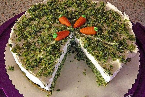 Comer bolo ou qualquer prato verde